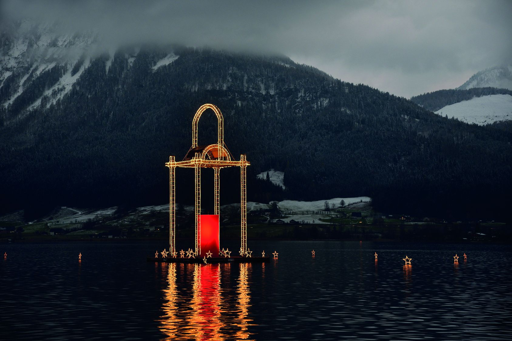 Advent am Wolfgangsee