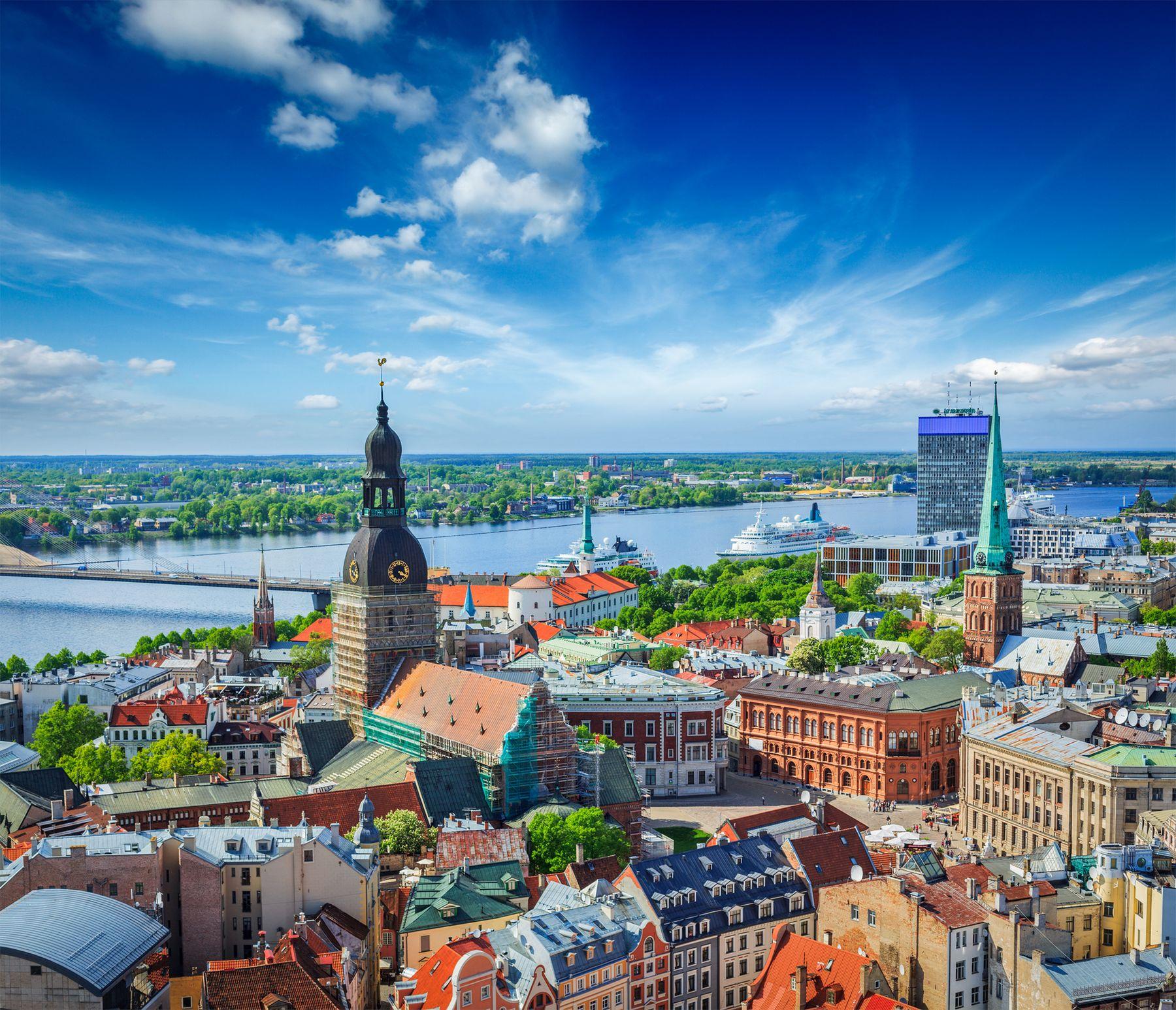Lettland Riga Stadt Europa iStock 525655093